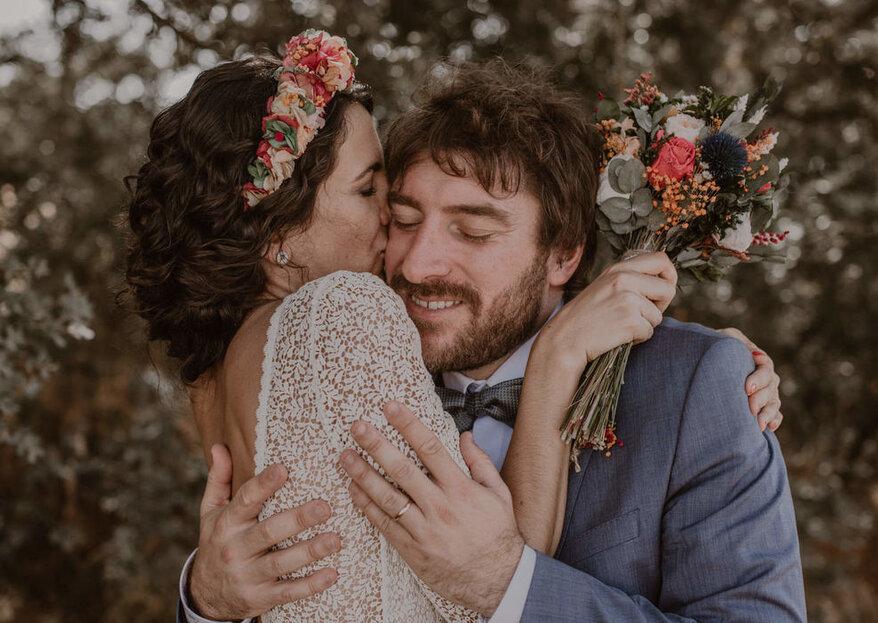 Los 8 tipos de fotos con amigos imprescindibles en el reportaje de boda