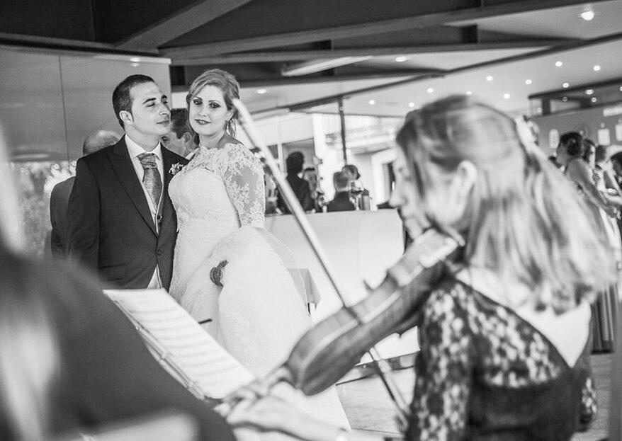 El Violín de Natalia: la melodía que necesitas para hacer de tu boda un espectáculo mágico