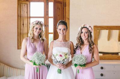 ¿Qué no hace, por nada del mundo, una dama de honor en una boda? ¡Estas 7 típicas cosas!