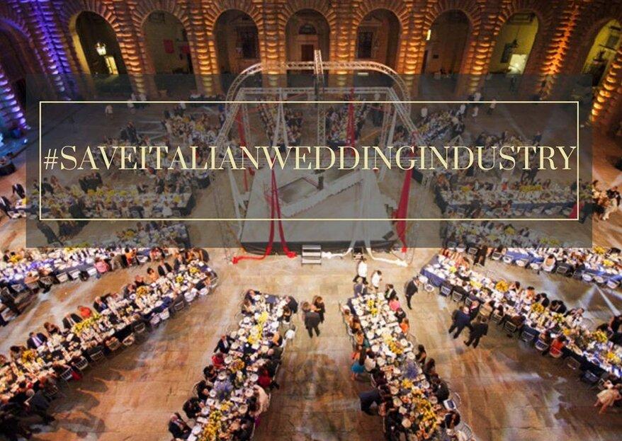 Misure urgenti per il settore matrimoni: l'appello della Wedding Industry italiana