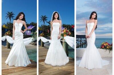 Romantyczna kolekcja sukien ślubnych Sincerity 2014