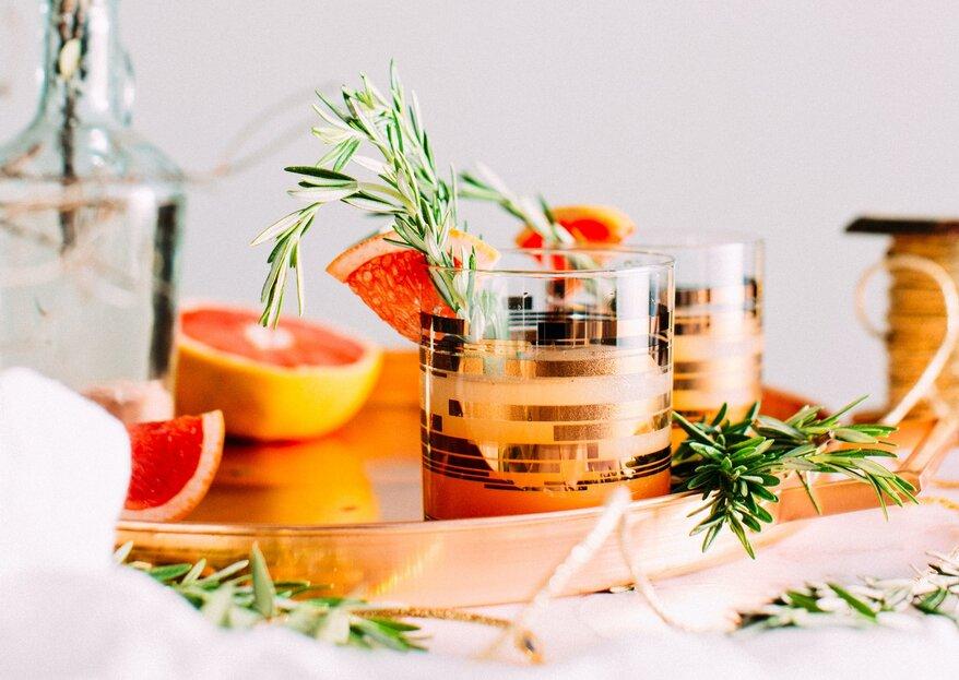 Cocktails op de bruiloft: deze wil je niet missen!