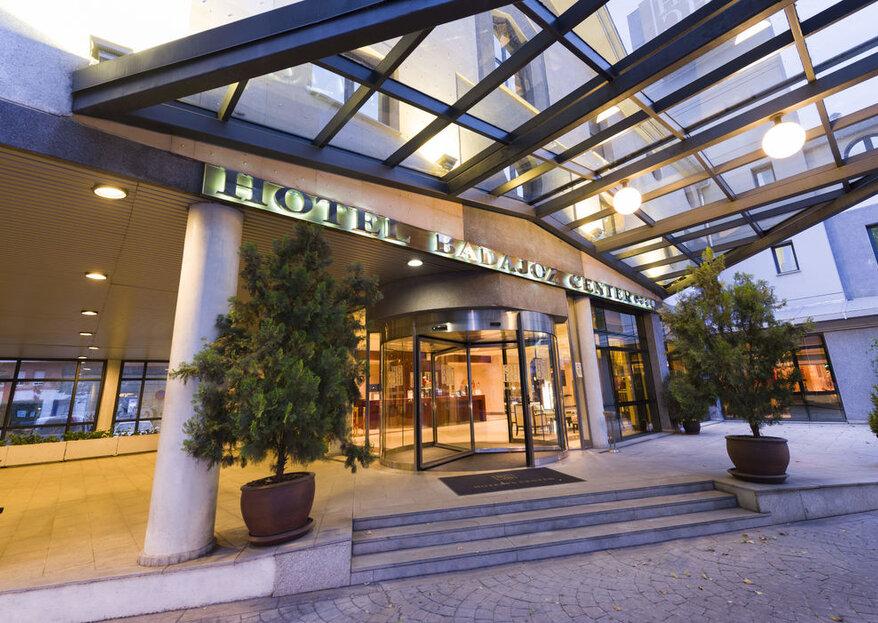 Hotel Badajoz Center: perfecta combinación entre elegancia y buena gastronomía