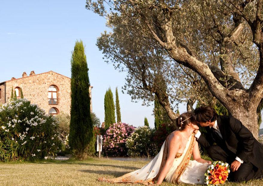 10 location caratteristiche in Italia per vivere le vostre nozze da sogno!