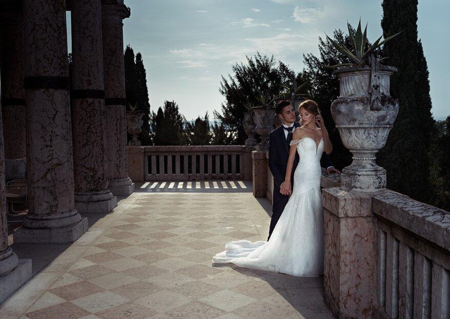 Heiraten in der luxuriösen Villa Cortine Palace in Sirmione