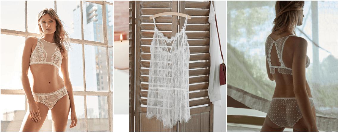 Lingerie de mariage : notre sélection des plus beaux sous-vêtements pour le jour J