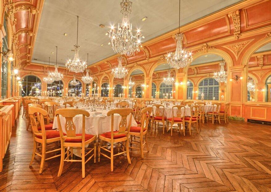 Les lieux de réception originaux pour votre mariage à Paris !