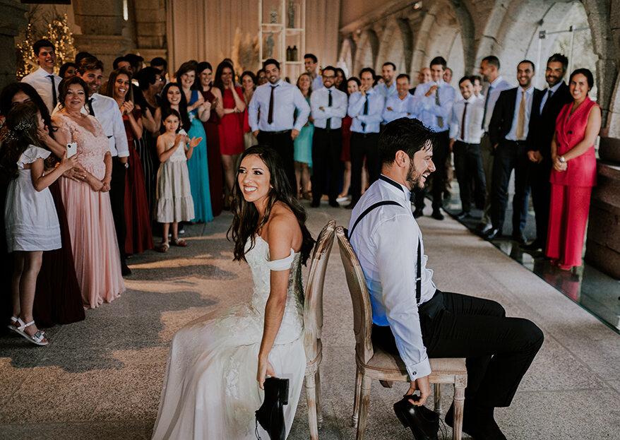 Jogos para casamento: 12 ideias para que não falte animação no seu grande dia!