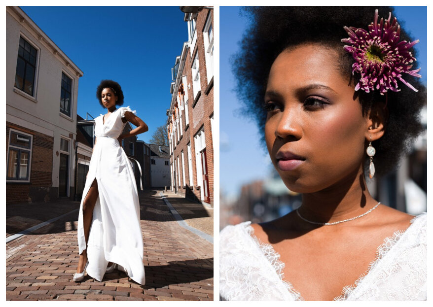 Styled Urban Bridal Shoot