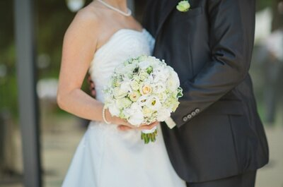 Welcher Brautstrauß passt 2015 zu Ihnen: Farbig , Klassisch oder Vintage?