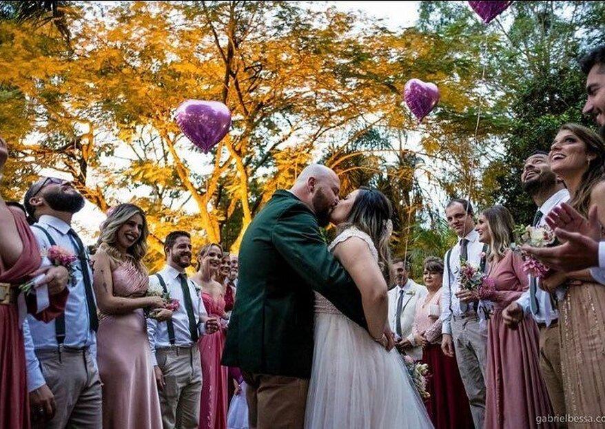Santa Isabel Eventos: conheça este cenário incrível para casamentos ao ar livre a menos de uma hora da capital paulista