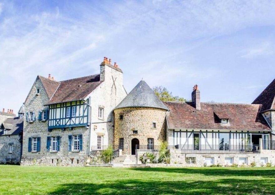 Domaine de Laumondière : réceptionnez dans un manoir normand en plein cœur d'une nature abondante
