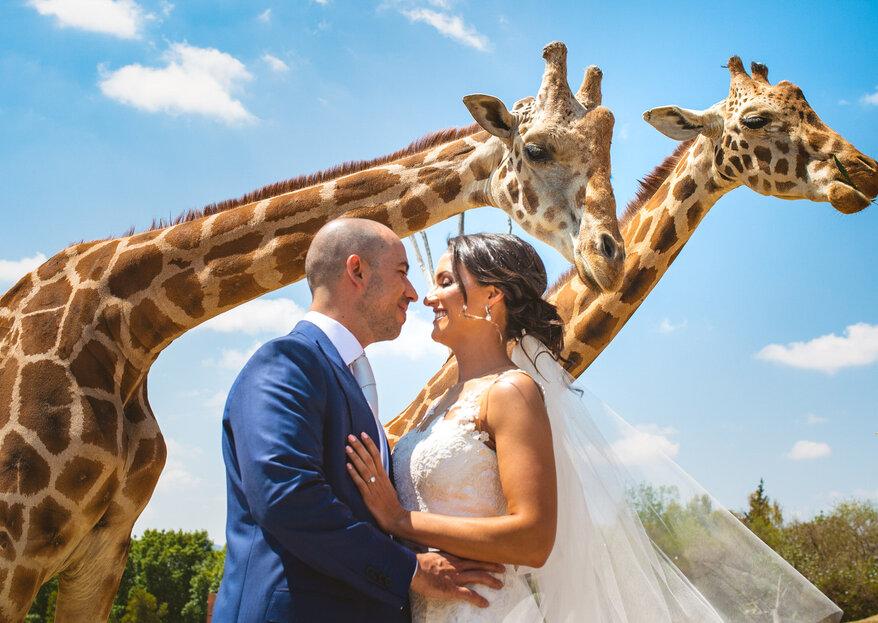 Un amor extraordinario: la boda de Uriel y Andrea