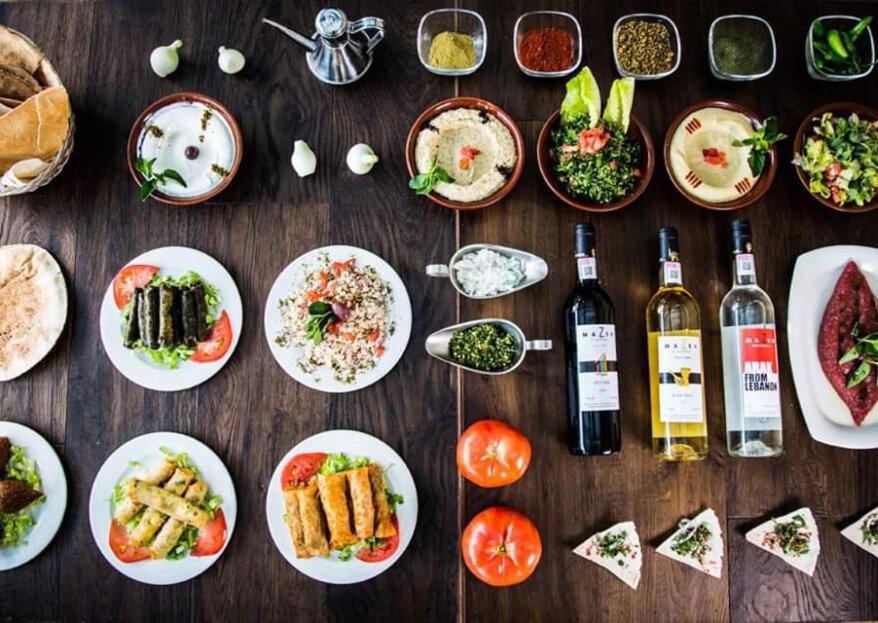 Mazeh Banquetes: un universo de posibilidades para tu banquete de boda