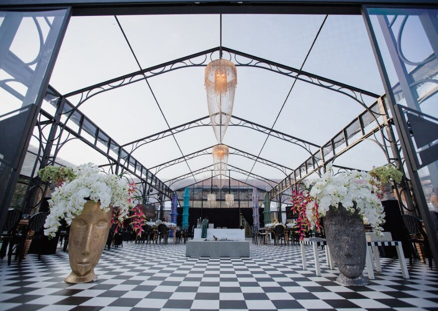 Gli ambienti che accoglieranno il vostro giorno speciale: Privitera Allestimenti per Eventi