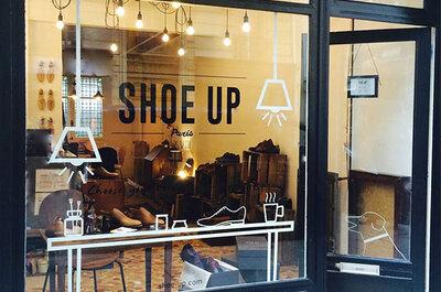 De la couleur sur-mesure et de l'originalité avec les chaussures Shoe Up !