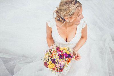 Die schönsten Blumentrends für die anstehende Hochzeitssaison: frisch & bunt!