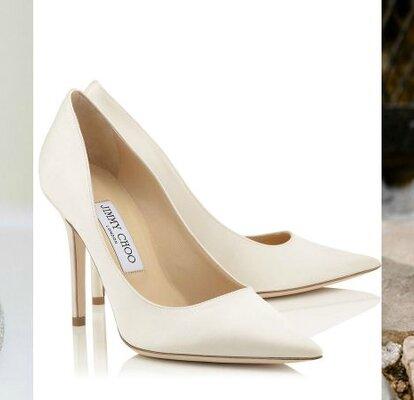 50% de réduction sur les images de pieds de nouveaux produits pour Les plus belles et luxueuses chaussures de mariée Jimmy Choo ...