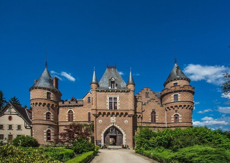 Organise Your Fairy-Tale Wedding at Château De Maulmont