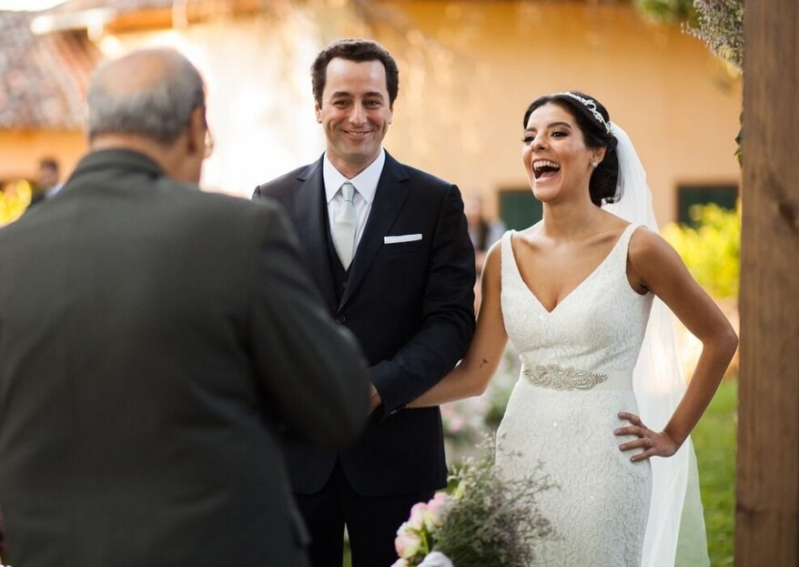 As 7 emoções que o celebrante te fará sentir no dia do casamento!