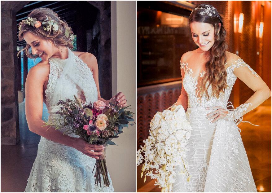 Cómo elegir el escote del vestido de novia según tu tipo de cuerpo