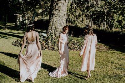 ¿Te gusta el rosado? ¡Entonces estos tres estilismos de invitada te sorprenderán!