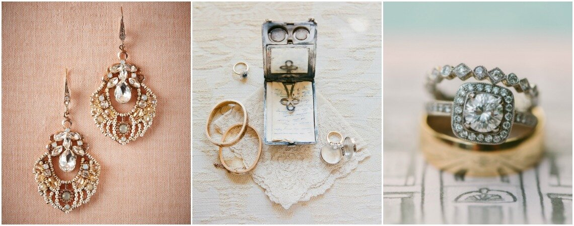 Vintage jewellery for brides. That perfect