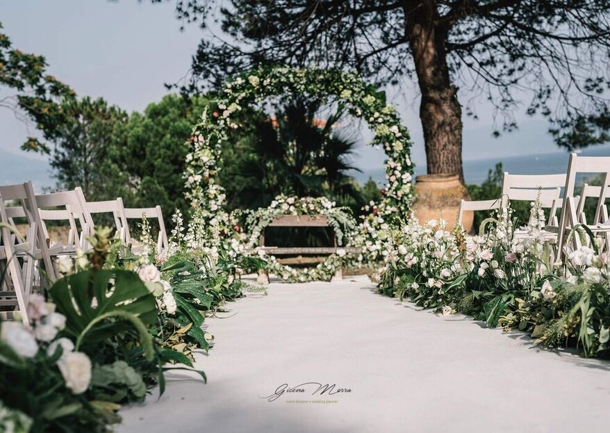 Gisena Morra, Neapolitan wedding planner, will enchant you with romantic and fairytale winter weddings for a thousand and one nights!