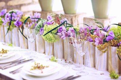 Come scegliere gli allestimenti floreali per il tuo matrimonio: i consigli degli esperti