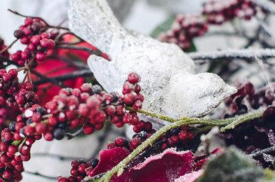 Новый год и Рождество: вдохновляющие идеи для вашей зимней свадьбы!