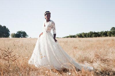 Como escolher o vestido de noiva para um casamento civil: um look clássico ou mais ousado?