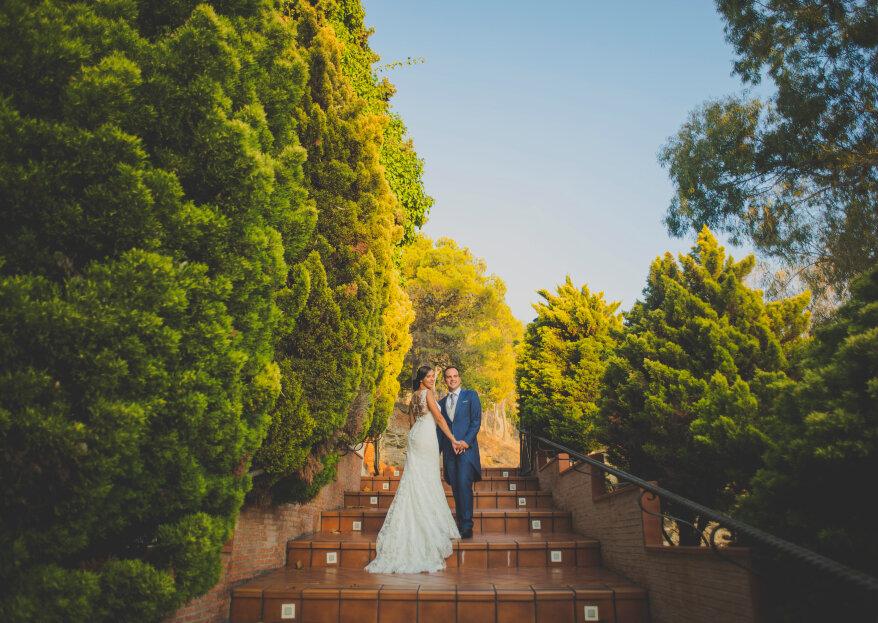 Destinados a encontrarse: la boda de Lidia y José
