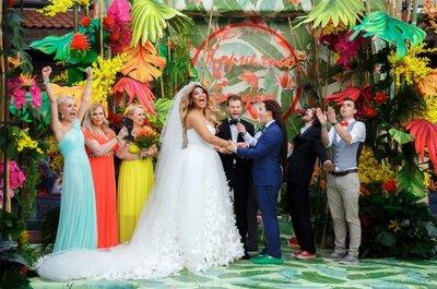 Экзотическая красота: как организовать свадьбу в стиле Tropical Glam?