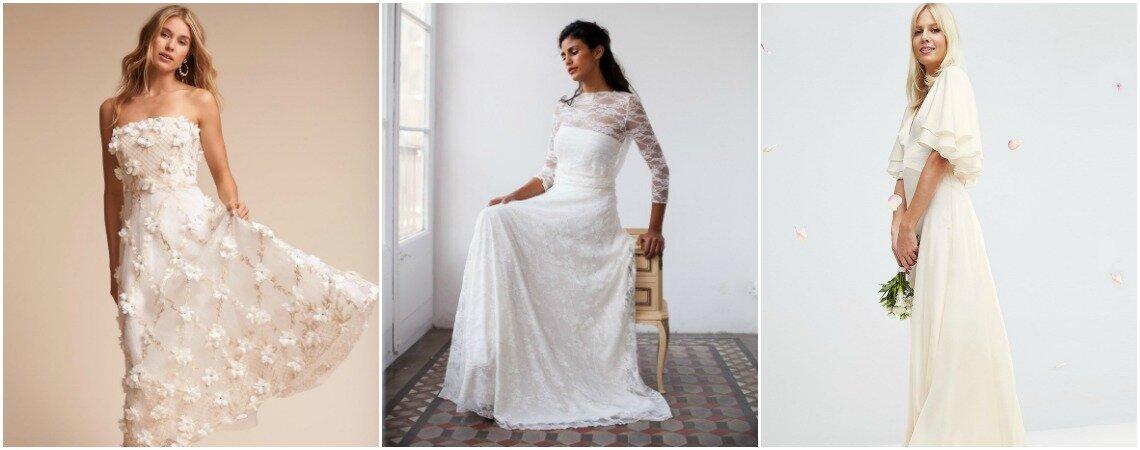 Robes de mariée low cost : des modèles pour tous les goûts et tous les budgets