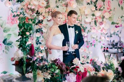 Как выбрать цветовую гамму для оформления вашей свадьбы?