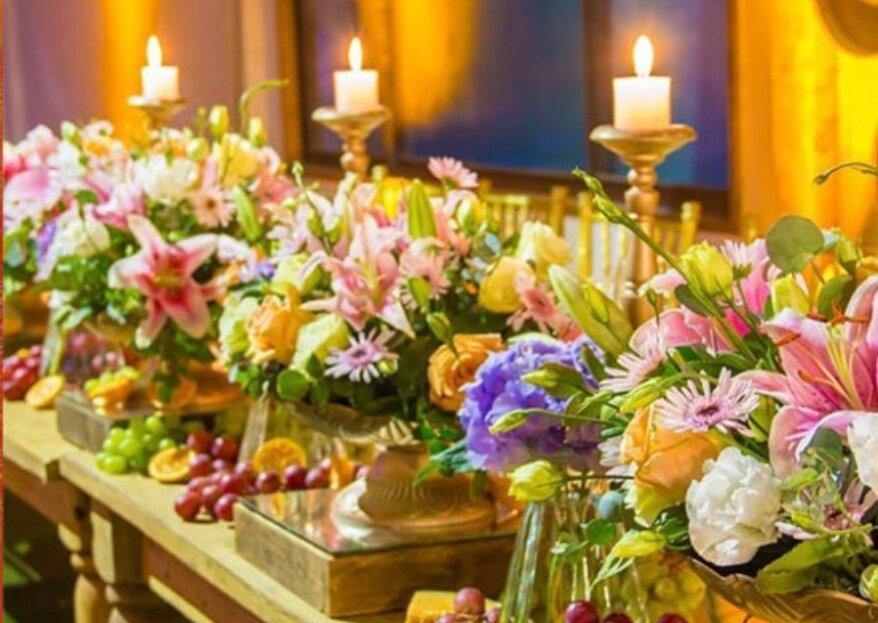 Verbena Eventos: una propuesta culinaria exquisita combinada con un escenario de ensueño