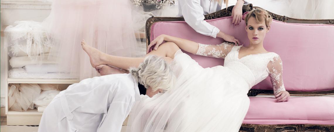 Atelier Emelia: tre stiliste sempre all'opera per creare l'abito da sposa dei sogni