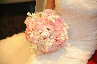 Casamento Amanda e Rafael: clássico, com um toque rústico e elegante