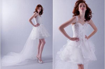 Catwalk-Looks: So stylen Bräute die Trends der Bridal Fashion Weeks nach!