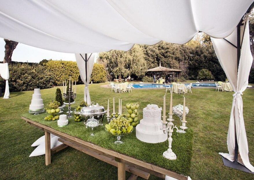 Celebra il ricevimento delle tue nozze in una location esclusiva come Villa Degli Orazi