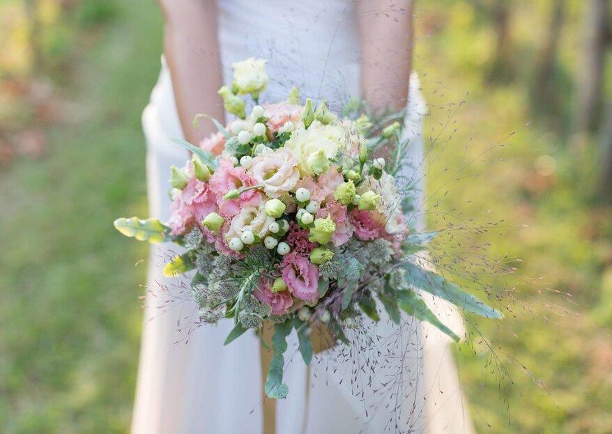 Ad ogni sposa il suo stile, ad ogni stile il suo bouquet!