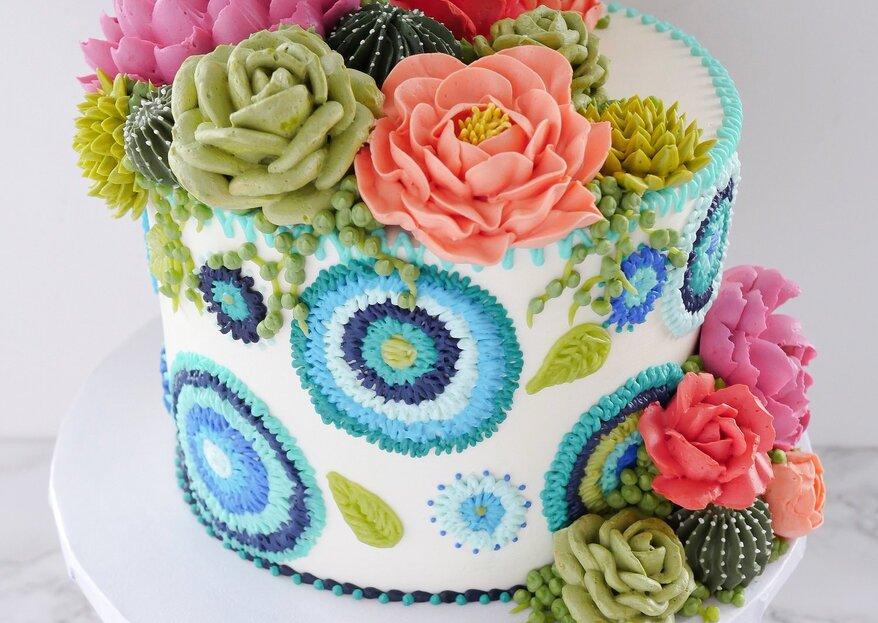 Pasteles mexicanos perfectos para tu boda ¡Delicias coloridas y originales!