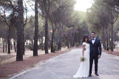 Tal y como siempre había soñado: la boda de Carmen y Manuel