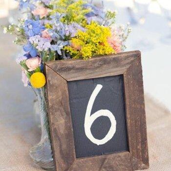 Idee per i numeri dei tavoli di nozze