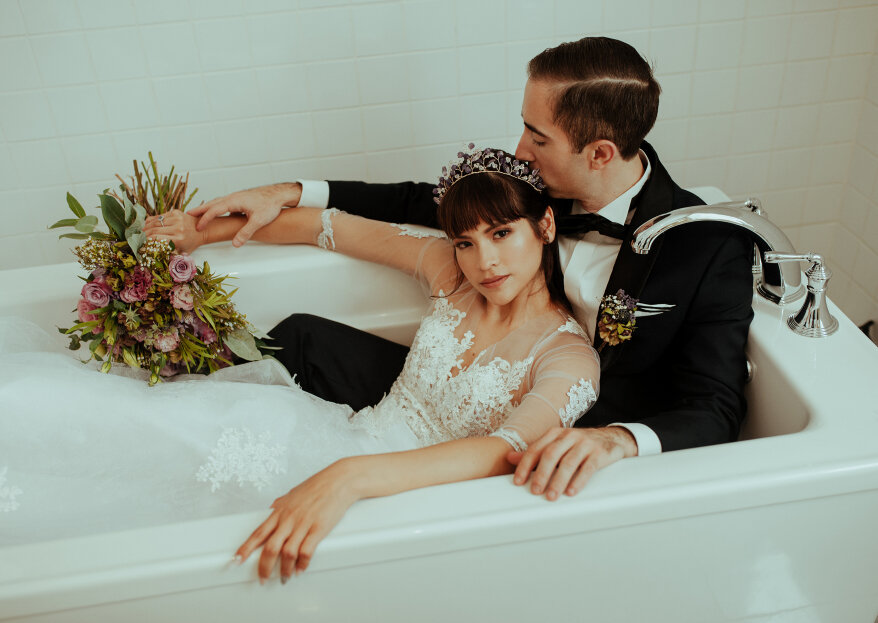 Cómo posar en las fotos de tu matrimonio. ¡Atención a estos cinco consejos!