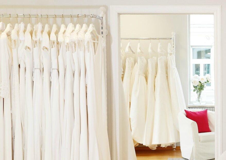 Hier werden Hochzeitsträume wahr - im Brautmodengeschäft Flamenco in München!