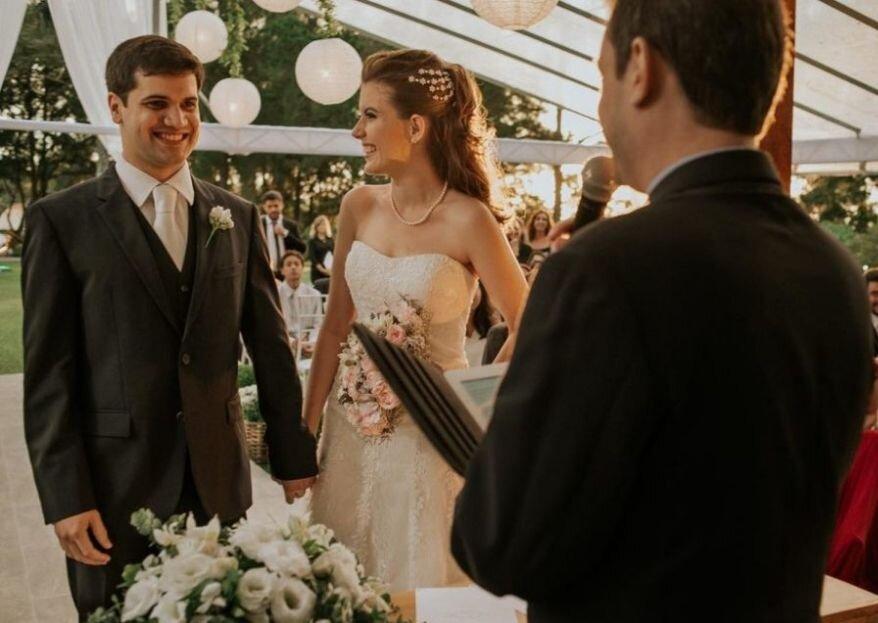 Cerimônia de casamento não religiosa: ideias diferentes e ousadas!