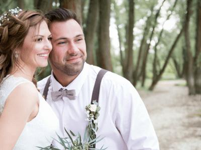 Inspirierende Fotos eines Hochzeitsshootings am Rhein - so schön ist Heiraten im Frühling