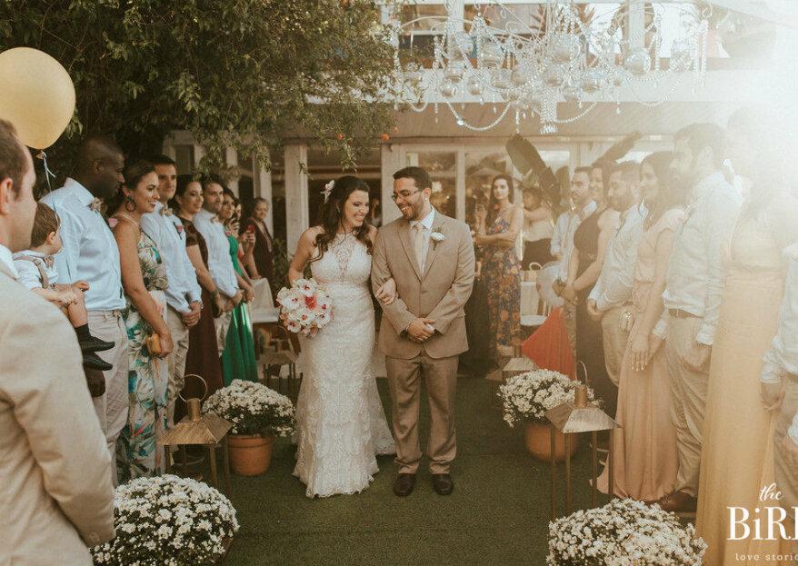 The Bird Love Stories: registros leves, sensíveis e espontâneos para casais que compreendem a verdadeira essência do casamento!