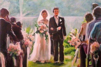 Jouw grote dag op een prachtig schilderij: hét huwelijkscadeau van 2017!